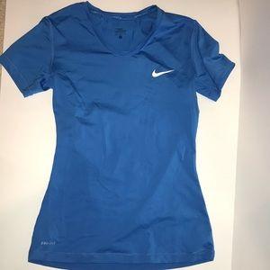 Nike Pro Blue Tee
